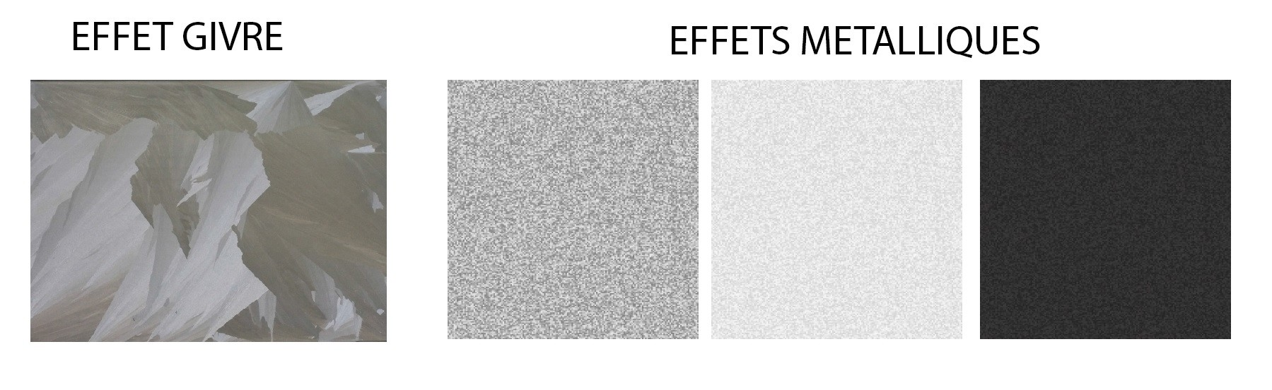 effets verrerie